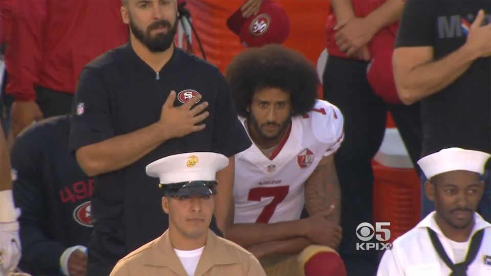 Beyond Kaepernick: Should international athletes stand for their country's anthem?