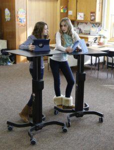 Juliet Starrett of Standup Kids talks about the benefits of standing desks