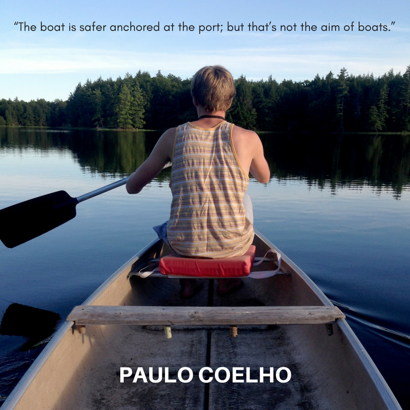 Paulo Coelho, part of the quotable KineSophy