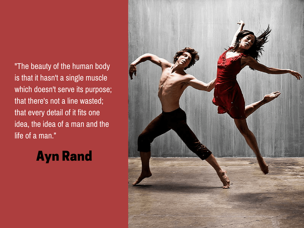 Ayn Rand, part of the quotable KineSophy