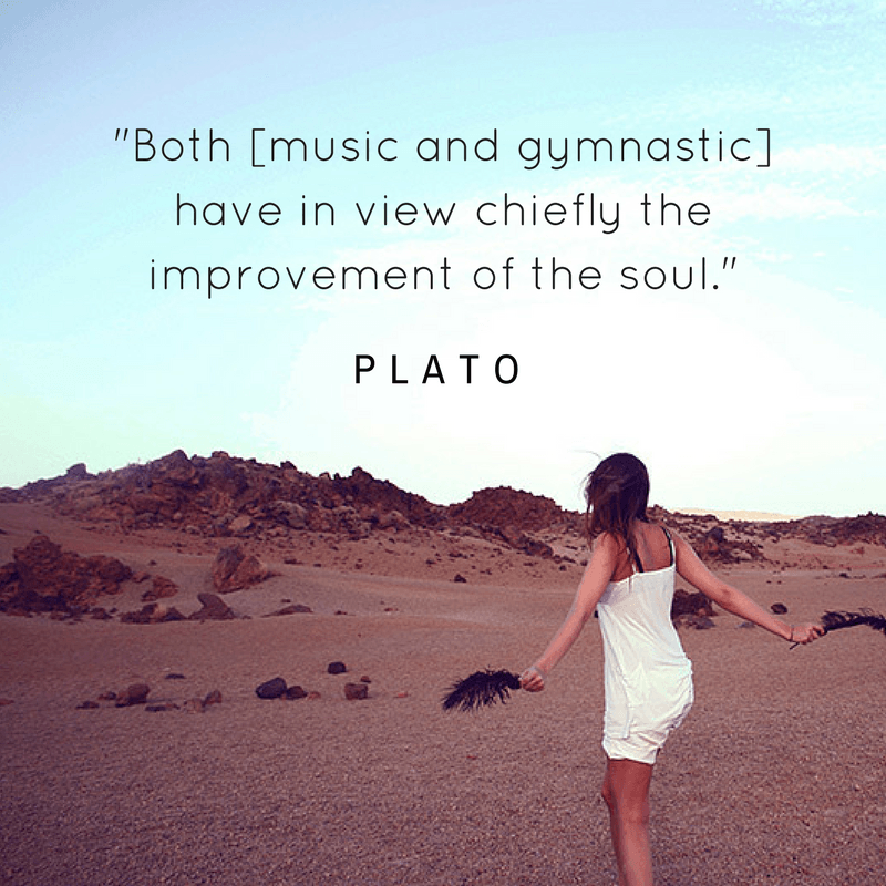 Plato, part of the quotable KineSophy