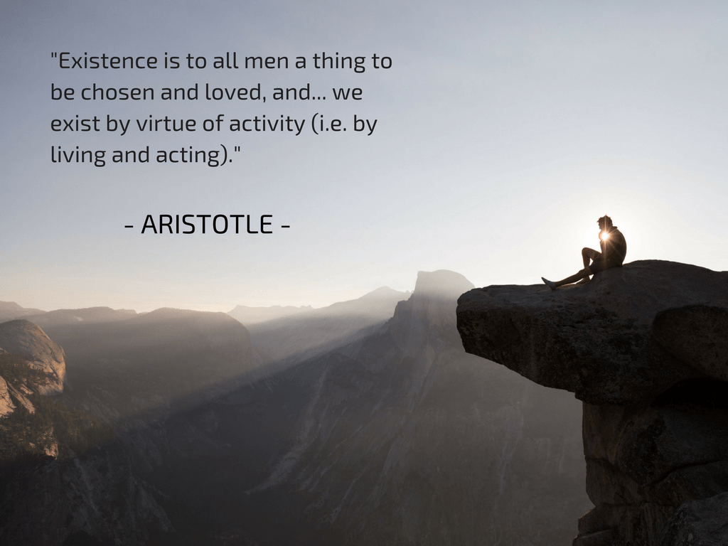 Aristotle, part of the quotable KineSophy